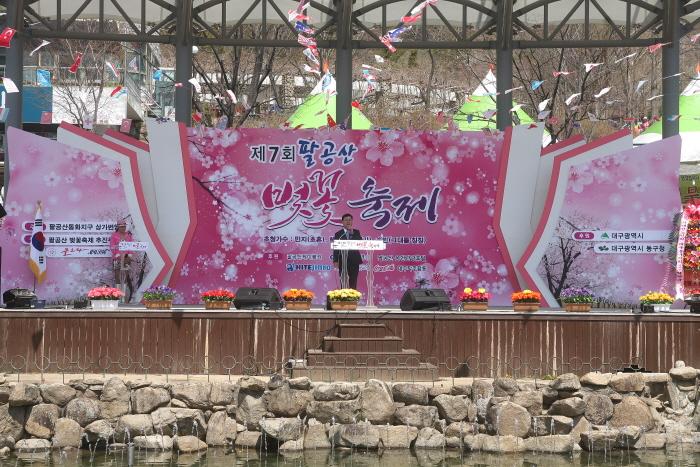 팔공산 벚꽃축제 2018  사진3
