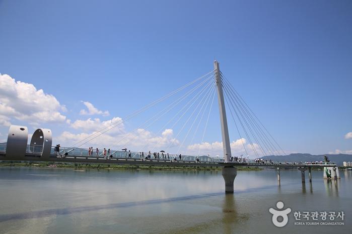 昭陽江スカイウォーク(소양강 스카이워크)