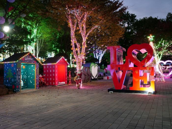 안산 별빛마을 로바니에미 산타마을 빛축제 2018  사진10