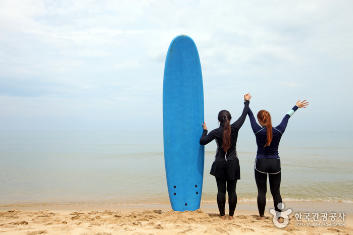 서피비치, 서핑(양양)
