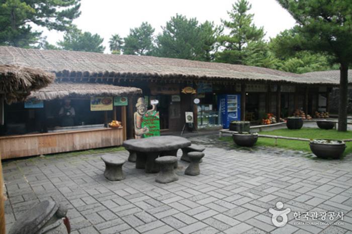 Dolharubang inside Jeju Hallim Park (돌하르방)