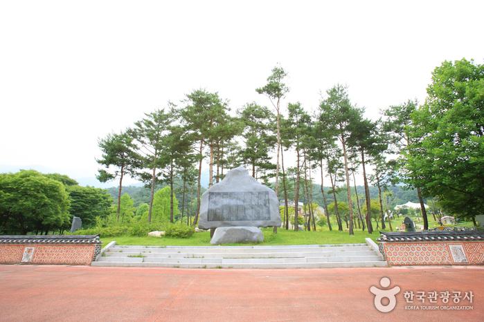 龍門山観光地(용문산 관광지)
