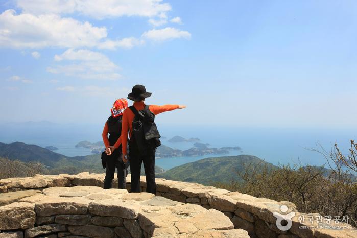 Berg Geumsan (Namhae) (금산 (남해))