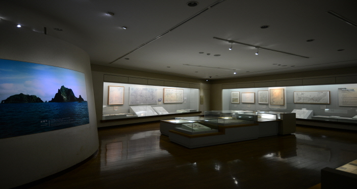 독도박물관 전시물