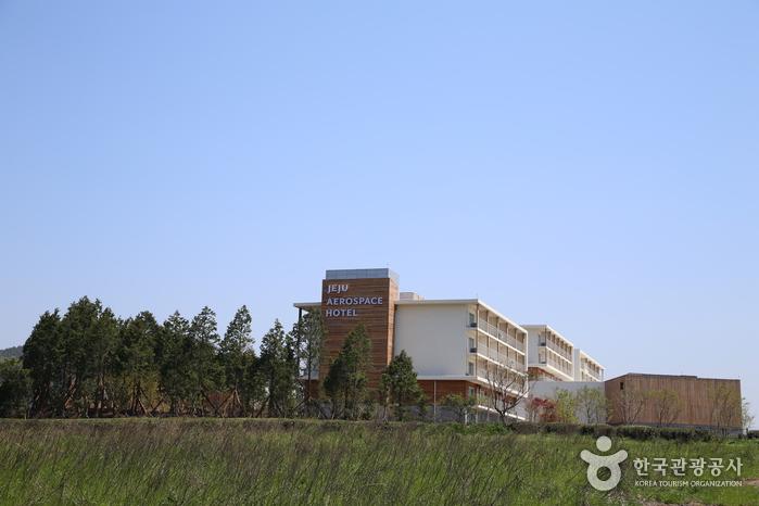 박물관 부설 호텔인 제주항공우주호텔