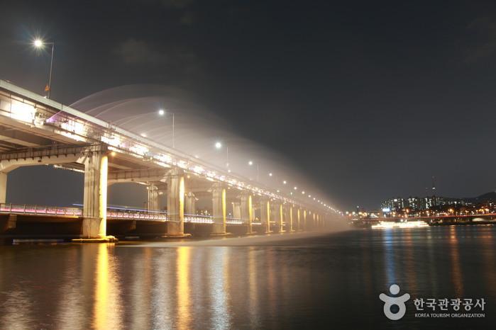 Banpo Bridge Rainbow Fountain (반포대교 달빛무지개분수)