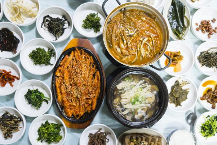 지리산산채식당 산채정식