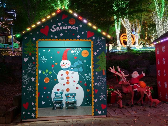 안산 별빛마을 로바니에미 산타마을 빛축제 2018  사진12