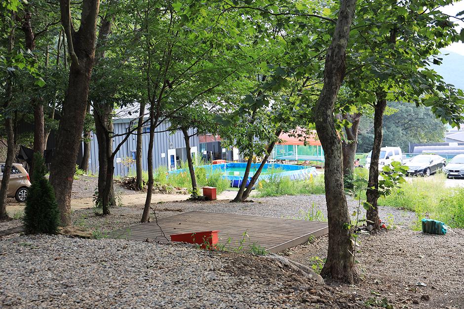 검단산숲에 캠핑장