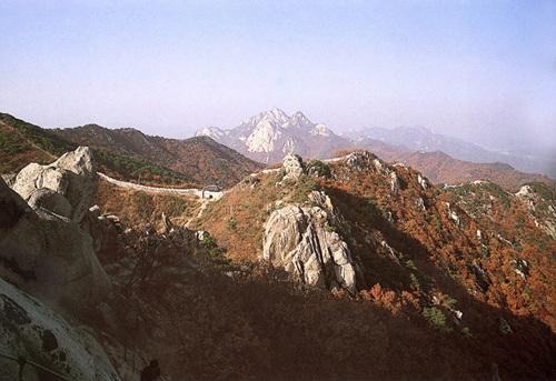 北漢山城(북한산성)