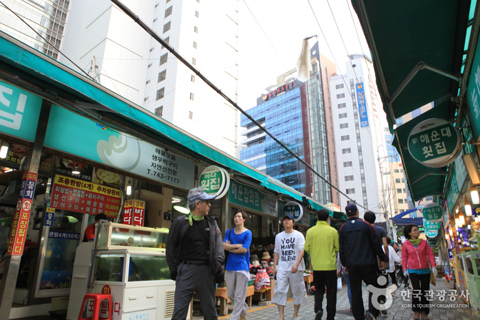 Traditioneller Markt Haeundae (부산 해운대전통시장)