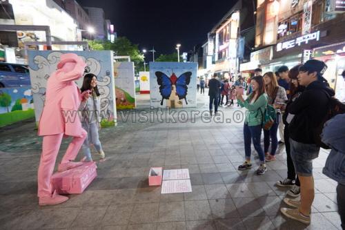Hongdae (Hongik University Street) (홍대)