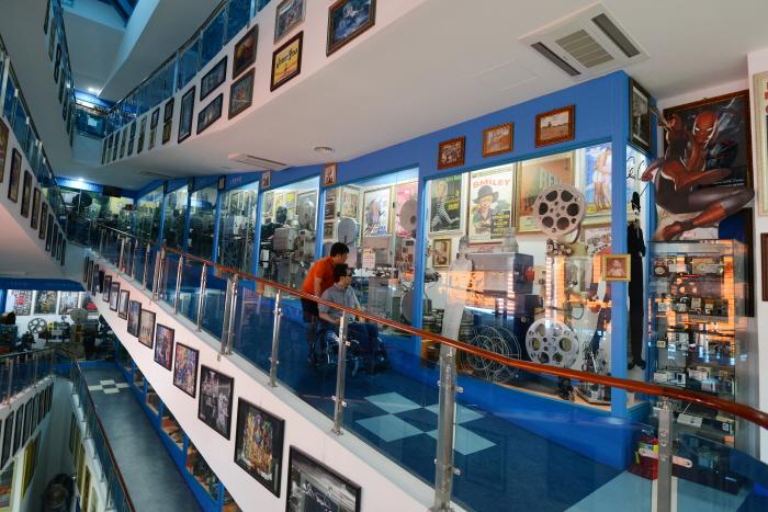 영화박물관 내부
