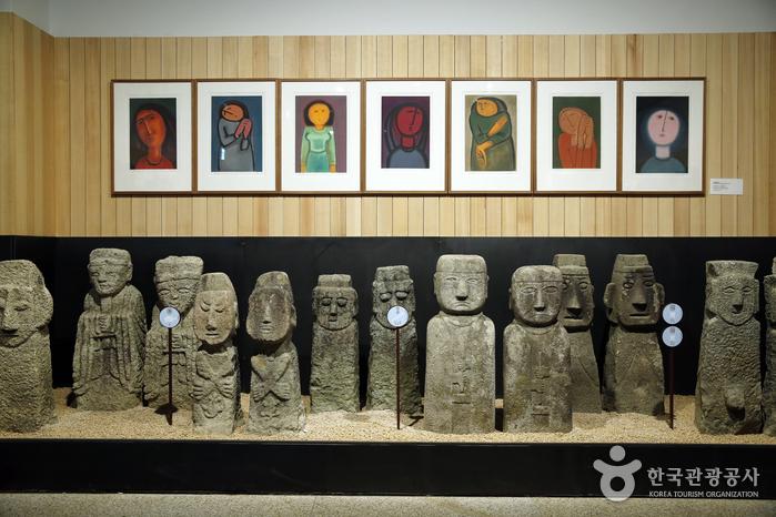 우리옛돌박물관 벅수관 내부 전시실