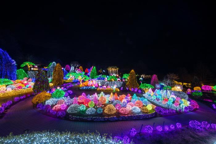 Lichterfest im Arboretum Achim Goyo (오색별빛정원전)