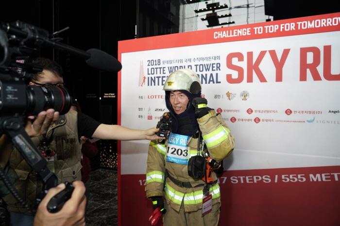 롯데월드타워 국제 수직마라톤대회 2019