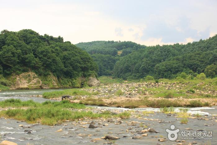 Река Хантханган (한탄강)10