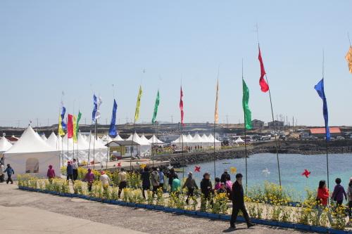 Jeju Canola Flower Festival (제주 유채꽃축제)
