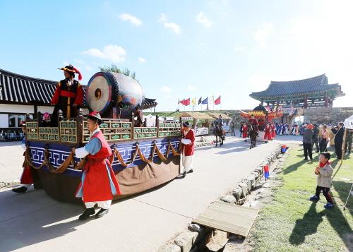 Geschichts-Erlebnisfestival der Festung Haemieupseong (해미읍성 역사체험축제)