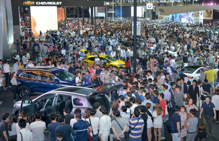 釜山国际汽车展(부산국제모터쇼)