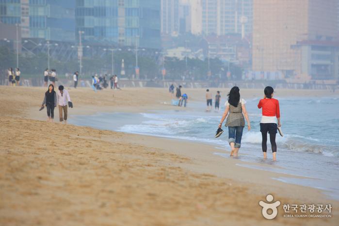 Пляж Хэундэ (해운대 해수욕장)8