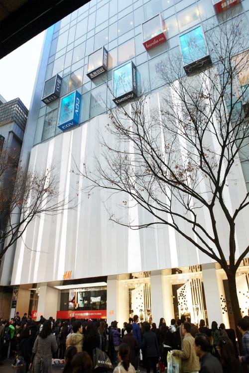 H&M - Myeongdong Branch No.1 (H&M - 명동1호점)