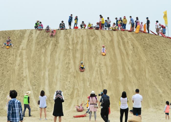 海云台沙滩节(해운대모래축제)