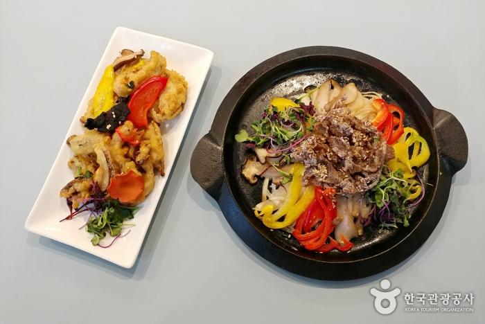 강원나물밥