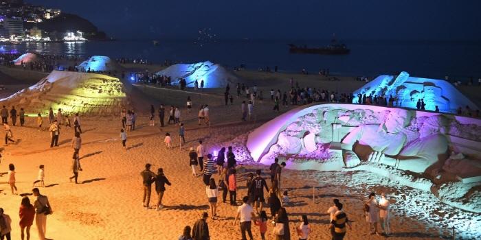 海雲台砂祭り(해운대 모래축제)