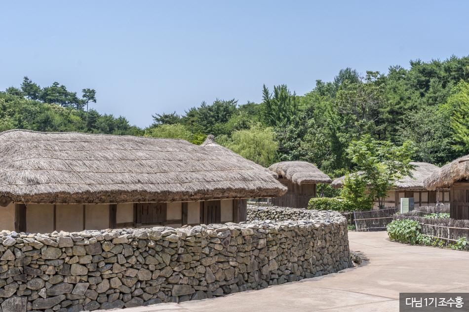 사비궁 서쪽 뒤편 생활문화마을
