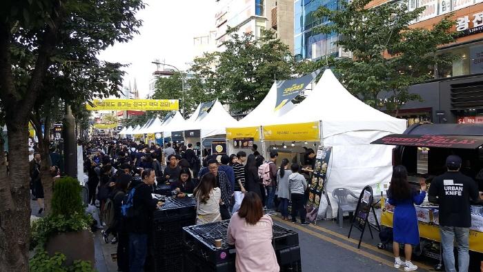 新村ビール祭り(신촌맥주축제)