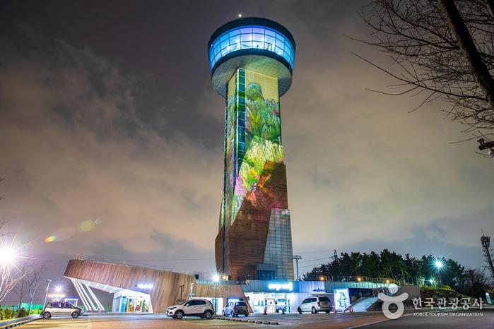 Observatorium der Brücke Ulsandaegyo (울산대교 전망대)