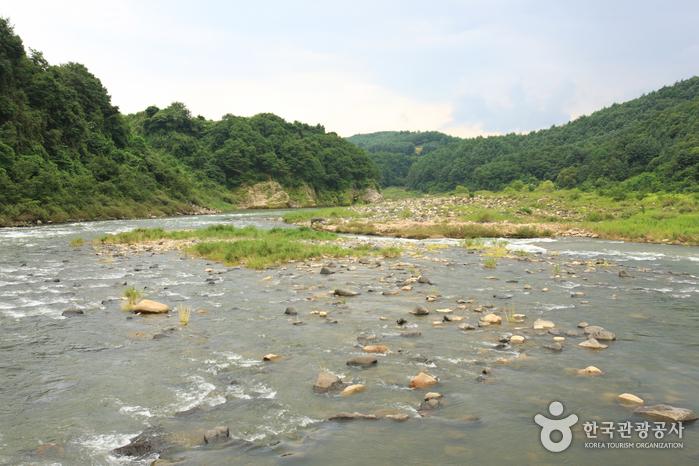 Река Хантханган (한탄강)12