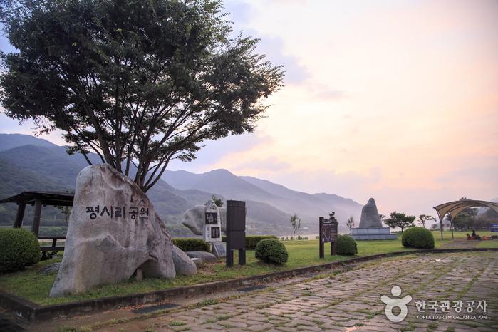 [하동 박경리 토지길 1코스] 섬진강 평사리공원~화개장터