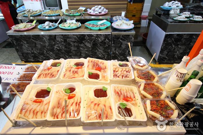 목포 자유시장 (남진야시장)