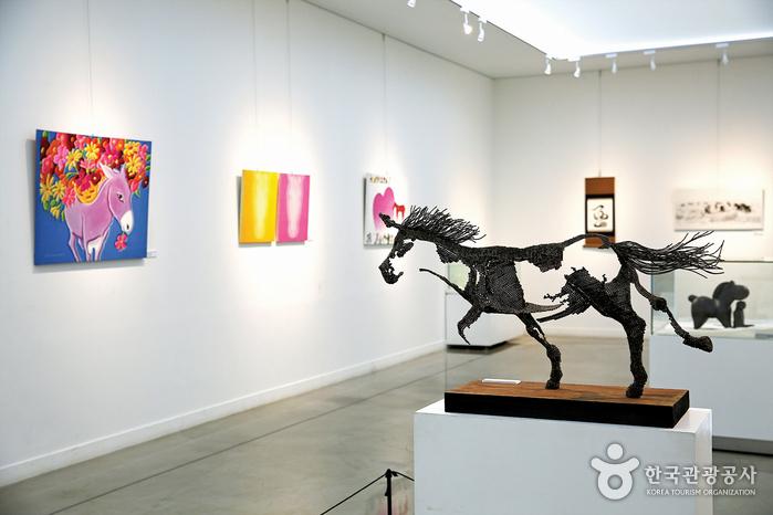 말의 역사를 한눈에 보여주는 말박물관
