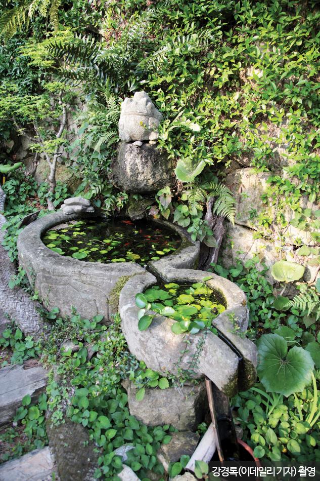 소낭구펜션 정원