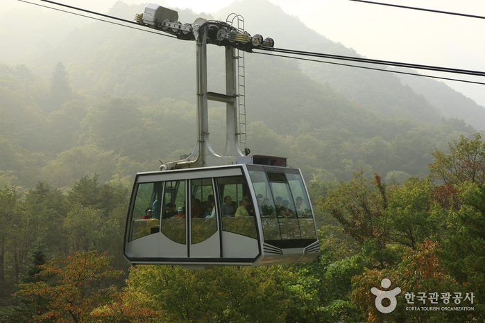 Seorak Sogongwon Cable Car Tour (설악 케이블카)
