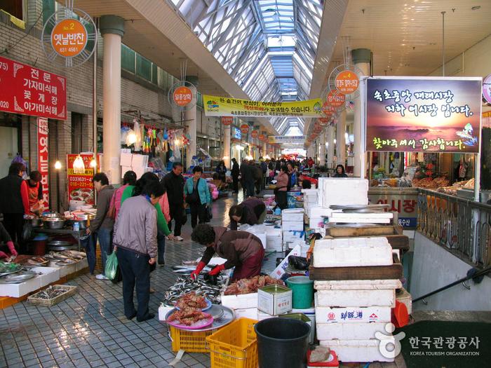 Mercado Central de Sokcho (속초 중앙시장)