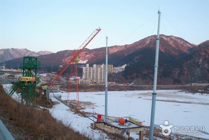 Inje Naerincheon (Stream) Bungee Jumping