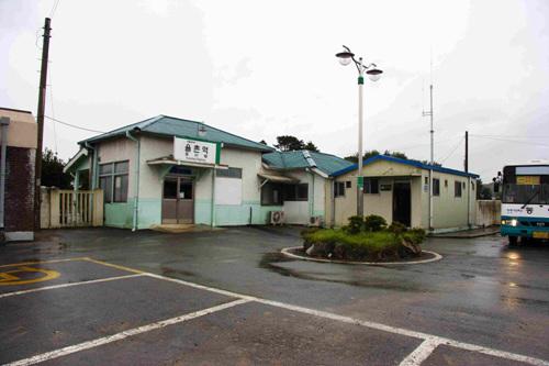 麗水 栗村駅(여수 율촌역)