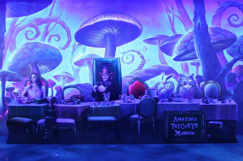 Музей оптический иллюзий Trick Eye на острове Чечжу (제주 놀라운 트릭아이미술관)11