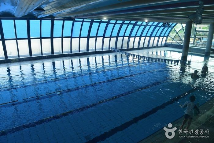 도고글로리콘도 실내수영장