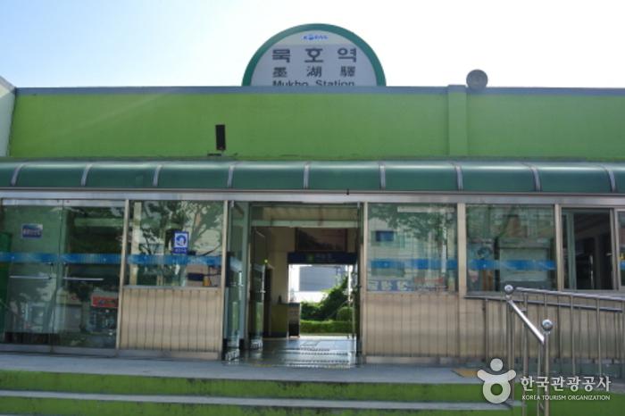 墨湖駅(묵호역)
