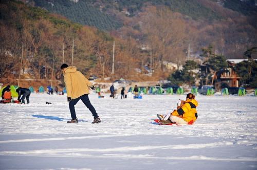 강화도 빙어 송어 축제 2018
