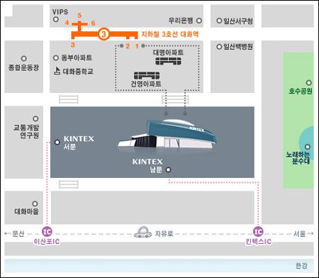 韩国金浦机场地图