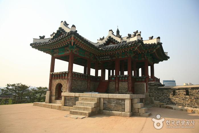 訪花隨柳亭(東北角樓)(방화수류정(동북각루))4