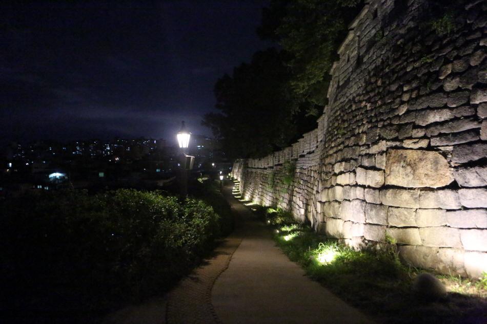 한양도성길 성벽