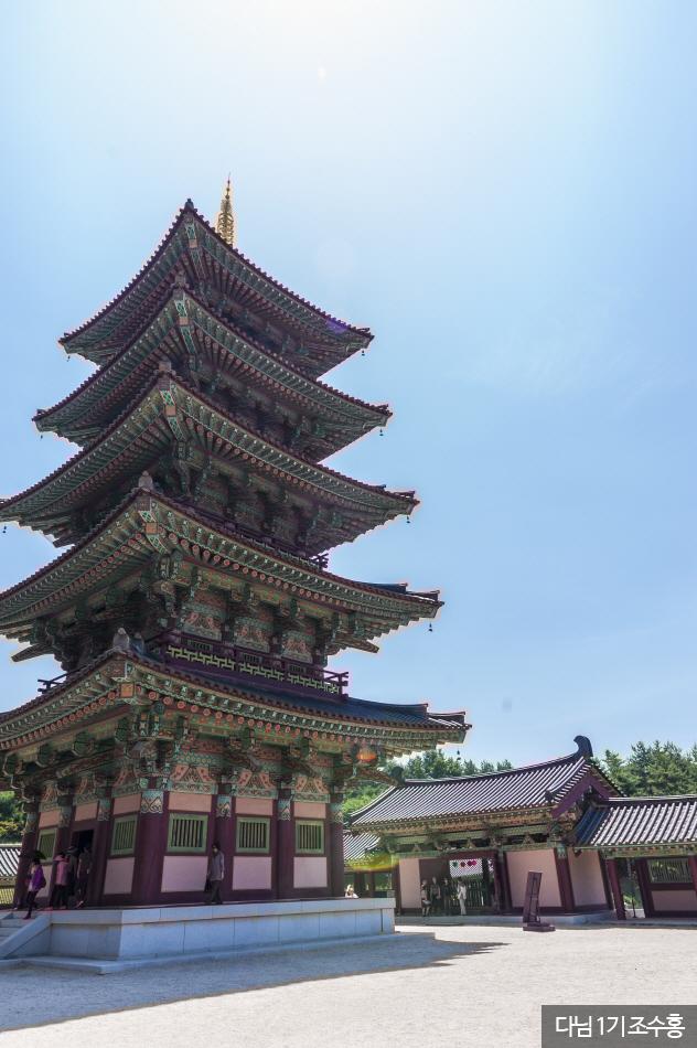 능사 오층목탑