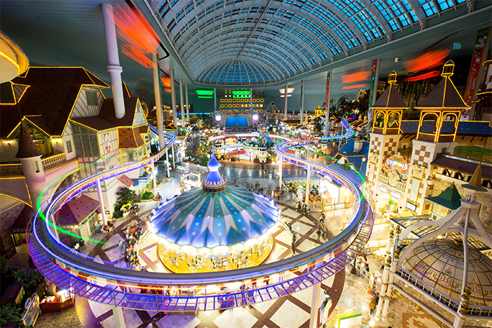 View of Lotte World Adventure (Credit: Lotte World)